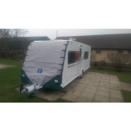 Towing Cover - Bailey Caravans with one awning channel
